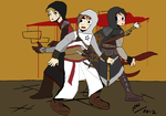 Saviors of Assassin's Creed by MAUWORLD274
