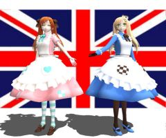 MMDNC Fem England by chocosunday