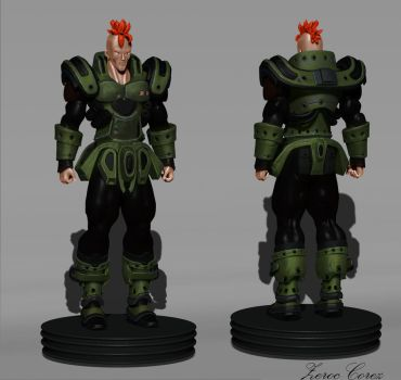Android16 final render by ZerocCorez