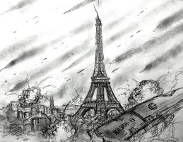Project ELISE: The Burning of Paris (WIP) by Gambargin