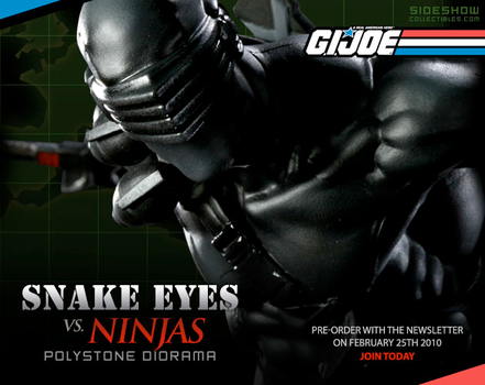 snake eyes vs ninjas preview by mojette