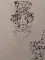 the two madest guys in wonderland by Felidae16