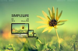 Simple Life Wallpaper by MediaDesign