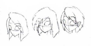 Random hairstyle concepts 2006 by OzzieScribbler