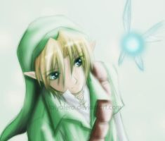 Link - Fairy Boy by talyafera
