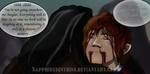 Never Again... (Mini comic preview) by Sapphiresenthiss