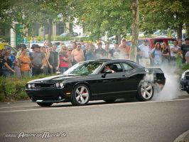 Challenger Burnout by AmericanMuscle