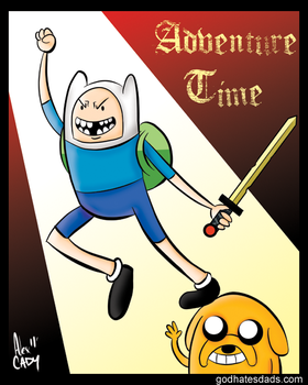 Adventure Time by alexcady