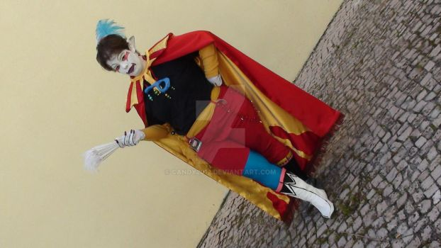 Kefka Palazzo  Cosplay  Dissidia 11 by Candy2012