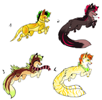 CLOSED - Canines Adoptables 352 by LeaAdoptables