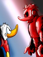 Red VS. Blue by DBguardian