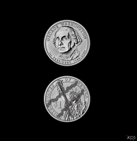 Two Face Coin by Postmortacum