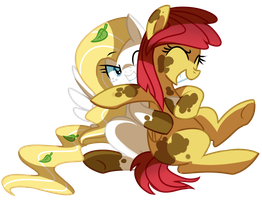 Mud hugs by pepooni