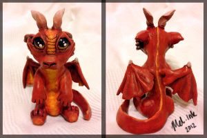Little Red Dragon by ChaosAcathla