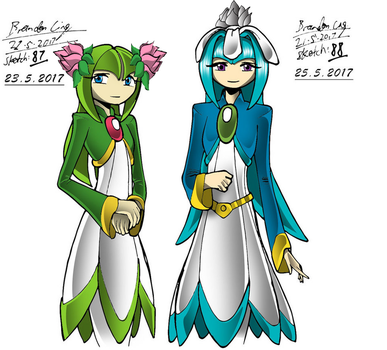 Adult Seedrian Sisters(update) by Gamerz31w