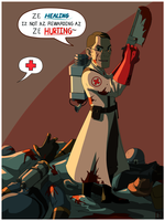 TF2 - Battle Medic by Operative-Nova-Eagle