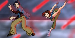Xmen: Kurtty: Dance With Me by ode2sokka