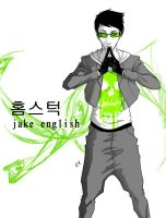 kpop-stuck: jake english by jigenbakudan