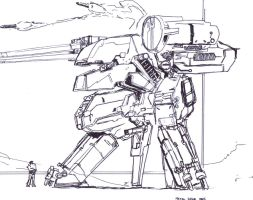 Metal Gear Rex by TheZombieHunter