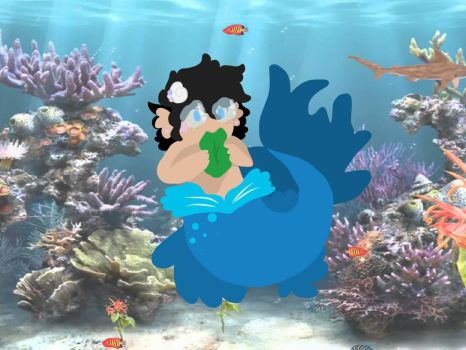 Baby! Merman! John Egbert by Bunny-Sweet