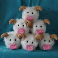 Pyramid of Poro's by WhimzicalWhizkerz