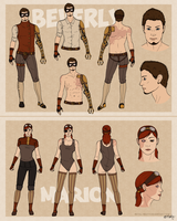 Design Sheet: Beverly, Marion by metal-marty