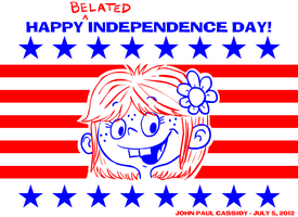 Happy Belated Independence Day - 2012 by ryuuseipro