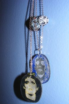 Lou Reed Necklaces by GlamRockCephalopod