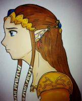 Princess Zelda by Mazdi