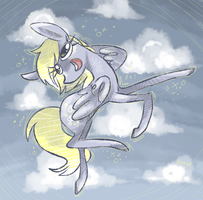 MLP: herp derp Derpy by TheKnysh