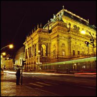 Prague national theatre by Csipesz