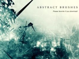 Abstract Brushes Photoshop by analeewon
