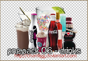 PNG PACK 06 - DRINKS by ChantiiGG
