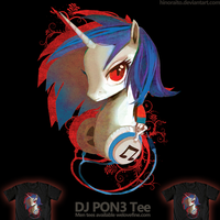 Welovefine: MLP FIM - DJ PON3 by hinoraito