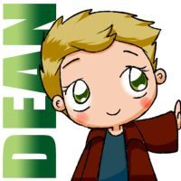 Kiriban Prize 2 part 1 of 2: Dean Icon by KamiDiox