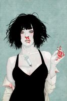 """Mia Wallace"" by stuntkid"
