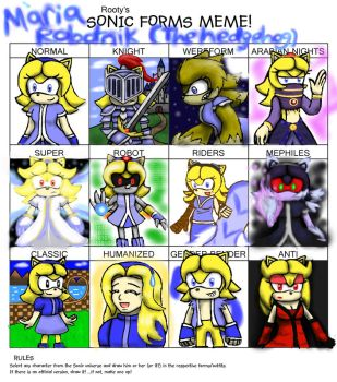 Sonic Forms Meme by Cloba94