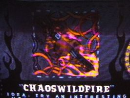 ChaosWildFire band logo W.T by megan-the-Speeddemon