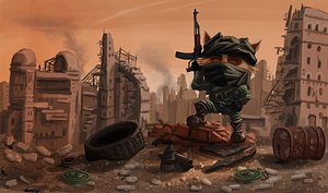 Rebel Fighter Teemo by Uriak