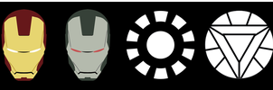 Ironman Icons Collection by Raymon92