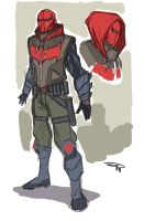 Red Hood re-design - RHA serie by DenisM79