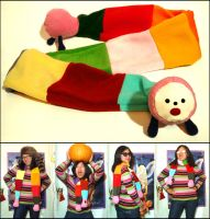 Noby Noby Boy Scarf by Meowchee