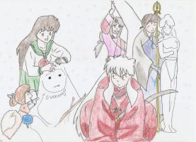 Inuyasha team by HeartlessHollow07