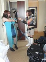 Rinoa meets Yuffie by TifaHeartilly78