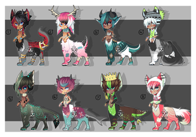 Taur adopts [ CLOSED ] by ButterflyBandit
