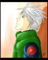 Emo Kakashi by Liquid-Skin