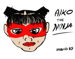 Aiko The Ninja by bushidohacks