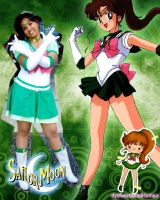 Sailor Jupiter Cosplay by DysfunctionalHuman