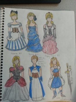 Alice's Costumes by sweetchick141