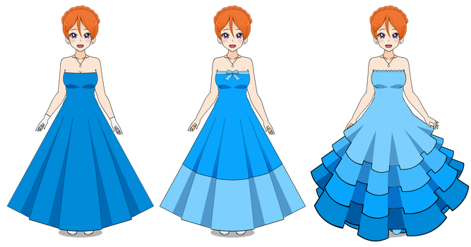 Kisekae: Gown Testing w/ Sophie *updated* by RainbowFan256